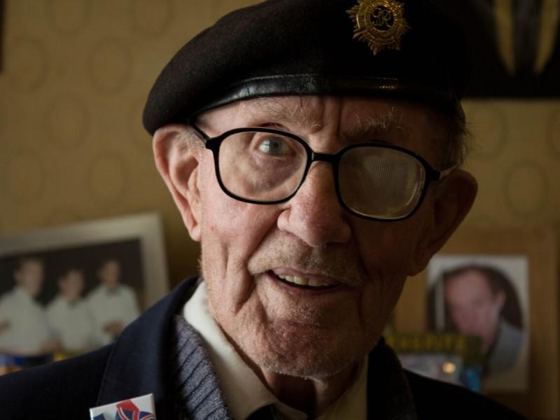 Veteran Harry Bailey