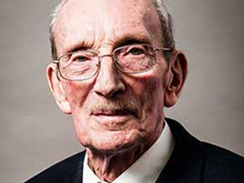 Veteran Ron Crowder